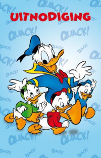 SET Donald Duck Uitnodiging Pk658 / 6x3,95
