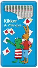 SET Max Velthuys Blikje Kleurpotl. / 6x3,95
