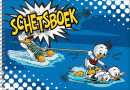 SET Donald Duck schetsboek / 5x4,95