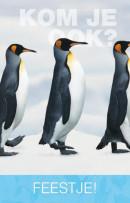 SET Ap Pinguin Uitnodig. Kl. Pk715 / 6x3,95