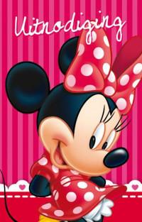 SET Minnie Mouse Uitnod. Kl. Pk 721 / 6x3,95