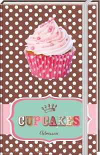 SET Cupcakes A6 Adresboek / 6x5,95