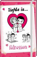SET Liefde Is A6 Adresboek / 6x5,95