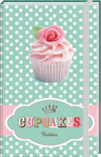 SET Cupcakes A6 Notitieboek / 6x5,95