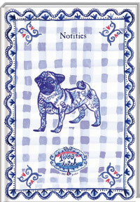 1000 GRADEN SET B7 Notitieboek / 6x4,95