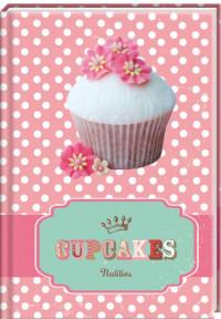 SET Cupcakes B7 Notitieboek / 6x4,95