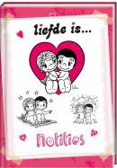 SET Liefde Is B7 Notitieboek / 6x4,95