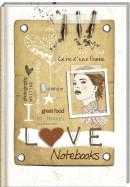 SET Love Sam B7 Notitieboek / 6x4,95