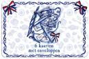 SET 1000 Graden blikje kaarten / 5X8,95