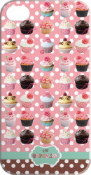 SET Cupcakes iPhone Cover / 5x9,95