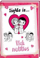 SET Liefde Is Postit Mapje / 5x4,95