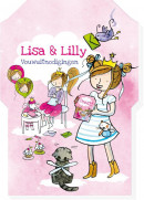 SET Lisa & Lilly Uitnodiging Fold & Mail / 6x5,95