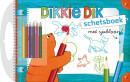 SET Dikkie Dik Schetsbk M/Sjabloon / 3x7,95