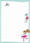 SET Lisa & Lilly Postpapier Setje / 6x4,99