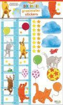 SET Dikkie Dik Groeimeter Stickers / 3x12,95