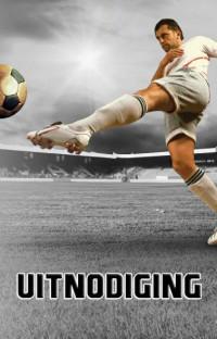 SET Fun Stoer Voetbal Uitnodiging Pk 777 / 6x3,95