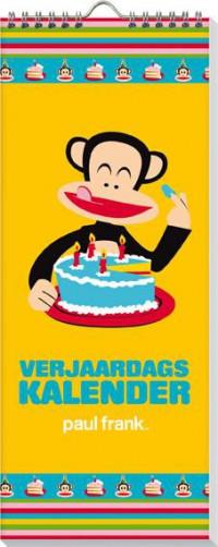 SET Paul Frank Verjaardagskalender / 5x7,95