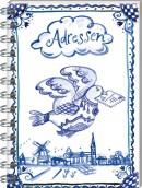 SET 1000 Graden Adresboek Spiraal / 3x8,95