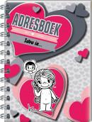 SET Liefde Is Adresboek Spiraal / 3x8,95