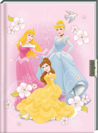 Set dagboek Prinses met slot / 6x8,95
