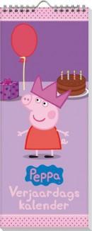 PEPPA SET Verjaardagkalender / 5x7,95