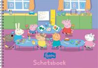 PEPPA SET schetsboek / 3x4,95