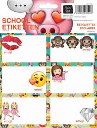 EMOJI GIRLS ETIKETTEN 10X2,99 BTS 16-17