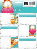 GARFIELD GIRLS ETIKETTEN 10X2,99 BTS 16-17