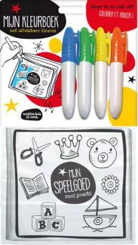 Speelgoed uitwasbare kleurboekjes SET / 4x6,95