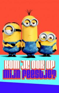 MINIONS UITNODIGING PK 835 / 6X3,95