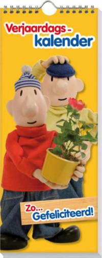 Set 5 Verjaardagskalenders Buurman & Buurman staand