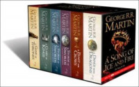 Song Of Ice & Fire A-format 6 Volume Box Set
