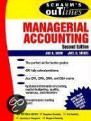 Schaum's Guideline Of Managerial Accounting