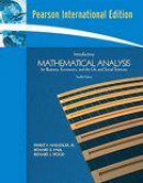 Introductory mathematical analysis for business (...)