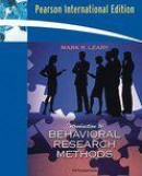 Introduction to Behavioral Research Methods:International Edition