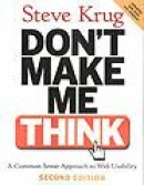 Don''t make me think!