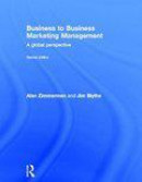 Business to Business Marketing Management