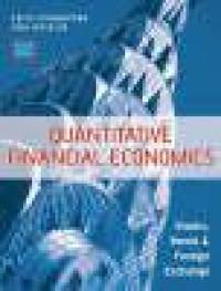 Quantitative financial economics stocks, bonds and foreign exchange