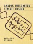 Analog integrated circuit design textbook