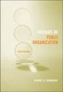 Theories of public organization 5th ed.