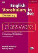 English Vocabulary In Use Elementary Classware