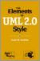 Elements of uml 2.0 style