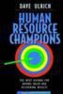 Human resource champions/planning