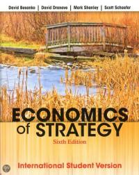 Economics of Strategy