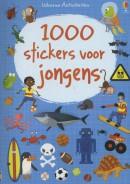1000 STICKERS VOOR JONGENS