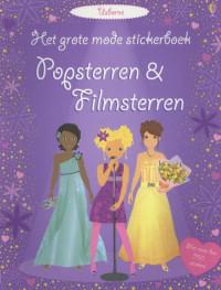 GROTE MODE STICKERBOEK - POPSTERREN EN FILMSTERREN GROTE MODE STICKERBOEK