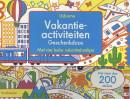 Vakantieactiviteiten geschenkdoos met vier leuke vakantieboekjes
