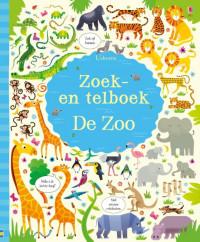 Zoek en telboek de dierentuin