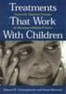 Treatments that work with children: empirically supported