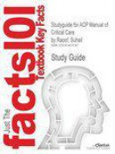 Studyguide for Acp Manual of Critical Care by Raoof, Suhail, ISBN 9780071605656